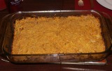 Honey Sweet Potato Kugel Parve
